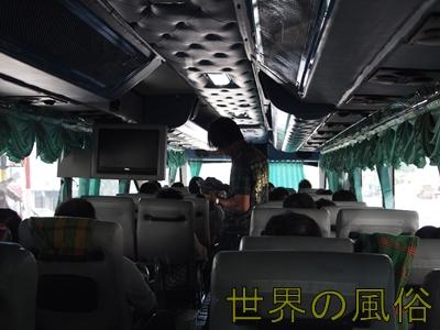 おっさんタイカンボジア国境「ポイペト」にカジノバスで向かう