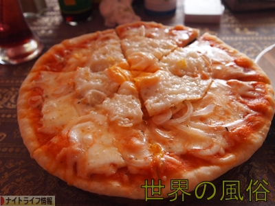 おっさんピザ