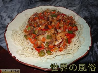 東莞の飯屋 おっさん新疆料理ラグマンをごり押しする