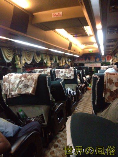 ヤンゴンからマンダレーへ シュエマンダラー社のバスは快適だった件
