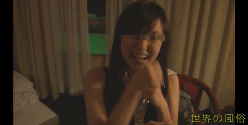 東莞常平 四川の妹系巨乳美少女に中出し&耳舐めで小鹿になる