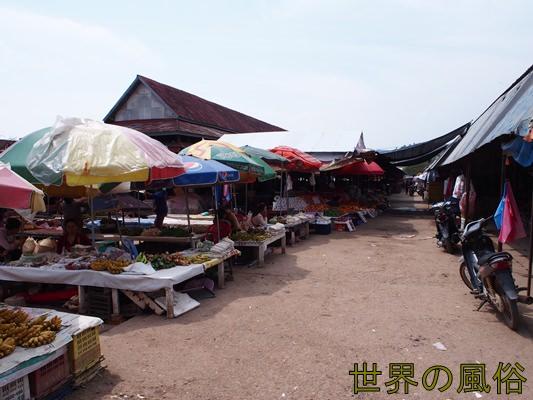 Louang Namtha-market