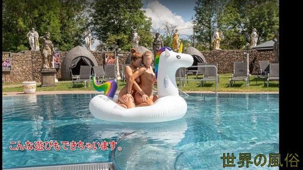 フランクフルトのFKK-OASE(オアゼ)の場所と遊び方 大規模なプールと庭で青姦もOK